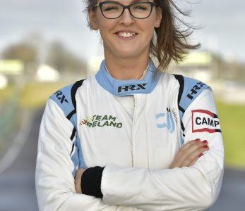 Nicole Drought CJJ Motor Sports Driver from Roscrea Co Tipperary